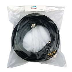 N Male / SMA Male Cable 10m Ultra Low Loss - antenna cable