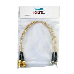 Assemblage de câble Bnc sa tête sa tête même u.FL