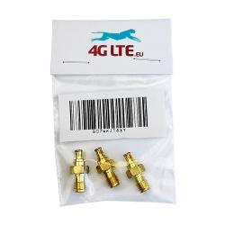Un SET di 3 x Adattatore SMA F/MCX connettore di RF