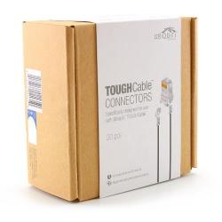 Ubiquiti TOUGHCable RJ45-Stecker mit Schutzleiter - Packung mit 20