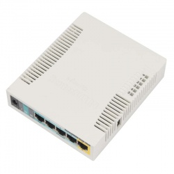MikroTik RouterBoard 951G-2HnD (RouterOS L4) with UK Power Supply