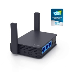 GL.iNet GL-AR750 Reise-AC-Router, 300MBit / s(2.4 G)+433Mbps(5G) Wi-Fi, 128 MB RAM