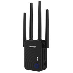 COMFAST 1200Mbps Casa sense fil Extensor Router wi-fi