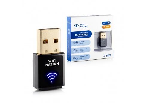 WiFi Nation mini 802.11ac AC600 USB adapter