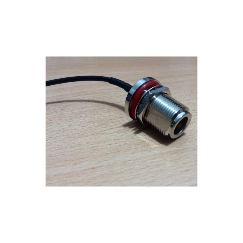 Sma Cable Assemblies : Cable assembly n bulkhead female to sma male
