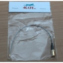 Montaje SMB de cable de la cabeza la cabeza incluso U.FL