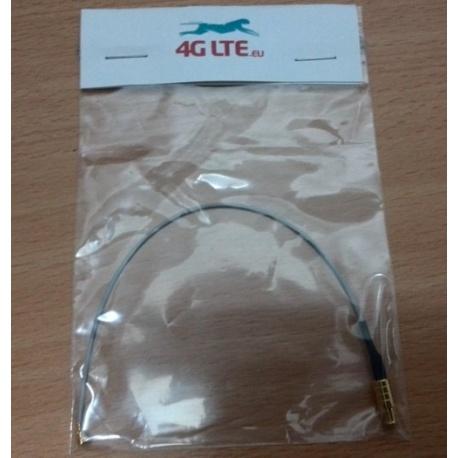 Assemblage de câble u.FL à droite MCX mâle