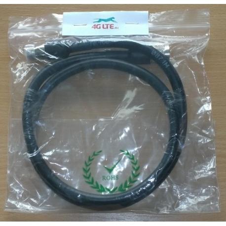 Kabelkonfektion A: N männlichen A: RP-SMA-Stecker