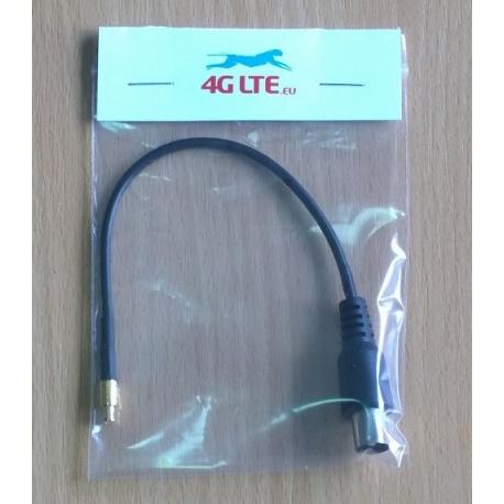 Montaje del cable IEC incluso MCX