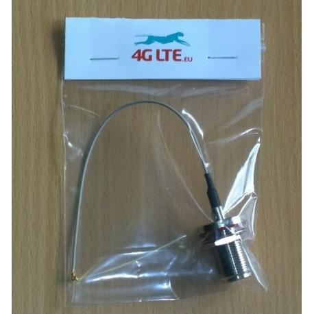 Sma de montaje de cable de la cabeza la cabeza incluso U.FL