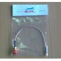 Kabel-Montage-SMA-Buchse zu rechter Winkel-MMCX-Stecker