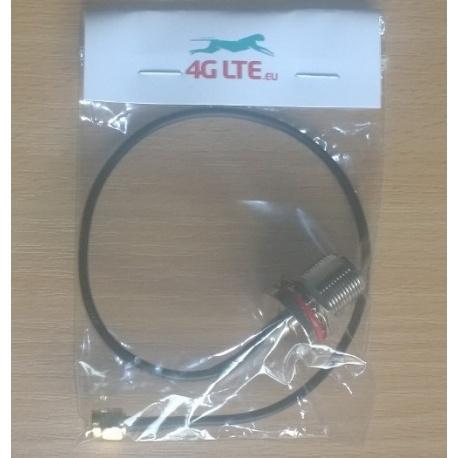 Kabel Montage N Bulkhead Buchse auf RP-SMA-Stecker