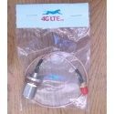 Cable Assembly N cloison femelle vers RP SMA femelle
