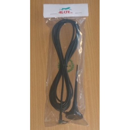 3G Mini Antenne - CRC-Steckverbinder (3dbi) für Huawei und ZTE USB-Modems