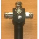 4 potencia Splitters N hembra