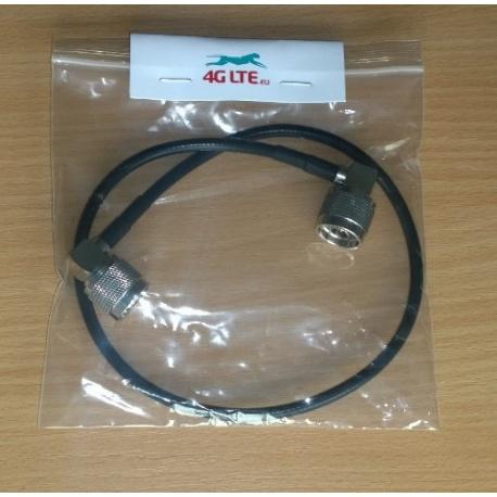 Kabel Montage N rechtwinklige Stecker auf N-Stecker/rechter Winkel