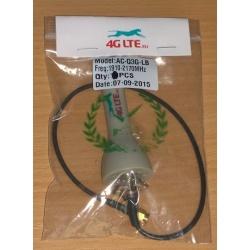3 G Terminal antena SMA macho 2.5 dBi gris
