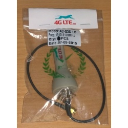 3 G terminale Antenna SMA maschio 2.5 dBi grigio