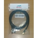 Cable Assembly N Male vers RP SMA mâle