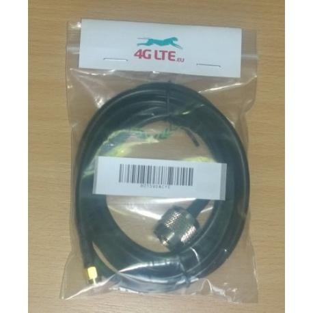 Assemblage de câble SMA mâle reverse à N mâle
