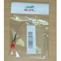 Kabelkonfektion U.FL auf RP-SMA-Buchse