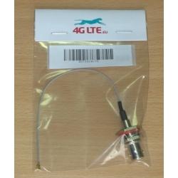 Montaje del cable Bnc la cabeza la cabeza incluso U.FL
