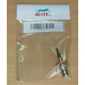 Cable Assembly TNC Female to MMCX Right Angle Male