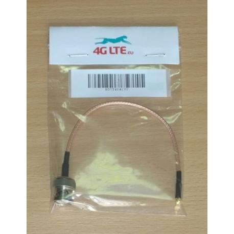 Kabel-Montage-BNC-Stecker auf MMCX rechtwinklig Männchen