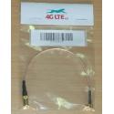 Kabel Montage rechtwinklig MCX Stecker SMB-Buchse