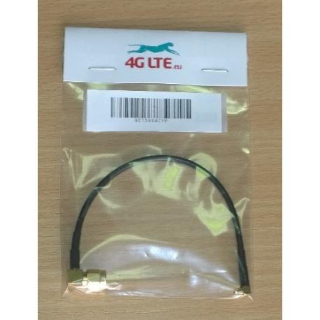 Cable Assembly querre SMA mâle à Angle droit MMCX mâle