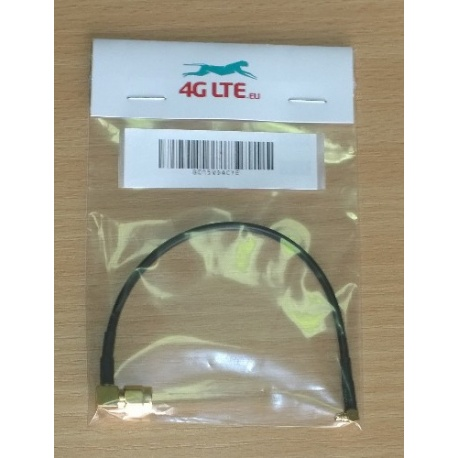 Cable de montaje ángulo recto SMA macho ángulo recto MMCX macho