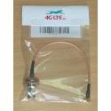 Cable Assembly TNC Buchse zu MCX rechtwinklige Stecker