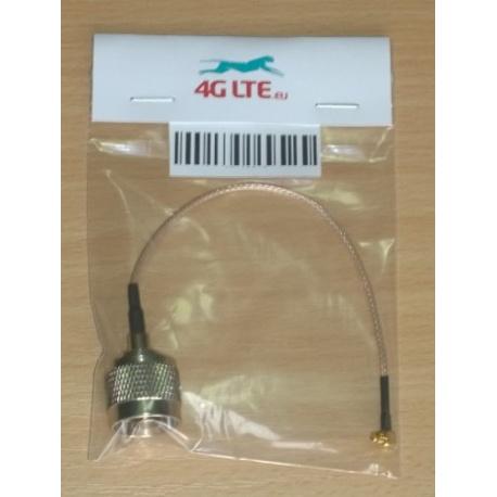 Cable ensamblado N macho a MMCX ángulo recto masculino