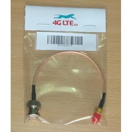 Kabel-Montage-BNC-Stecker zu SMA-Buchse