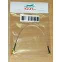 Cable Assembly SMA Male to Right Angle MMCX Male
