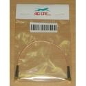 Cable Assembly querre MCX mâle à mâle MCX à Angle droit