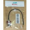 Cable Assembly gerade MCX Stecker N Bulkhead-Buchse