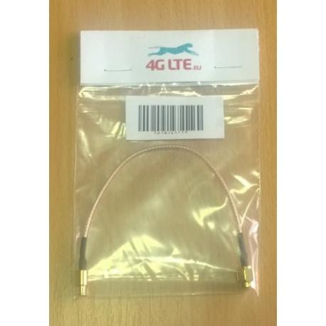 Cable Assembly SMA mâle/mâle de droite MCX