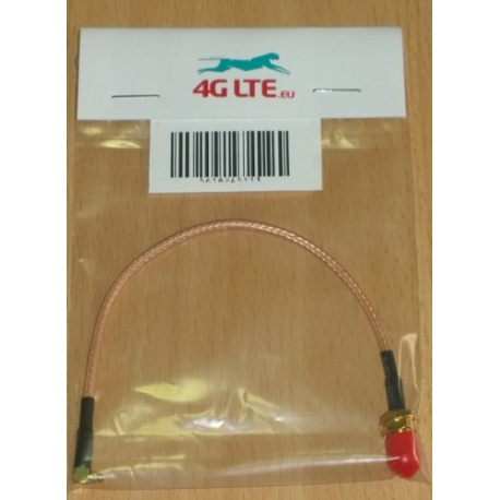 Cable Assembly RP SMA Female to Right Angle MMCX Male