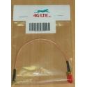 Cable Assembly RP SMA femelle à Angle droit MMCX mâle
