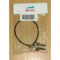 Cable Assembly N cloison femelle RP SMA mâle