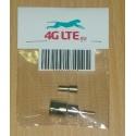 RF connector FME Male Plug Crimp