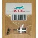BNC Male sertir connecteur pour câble RG59