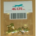 Packung mit 5 x SMB R / A männlich für PCB