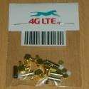 5xConectador del RF MCX_male_ra_cable
