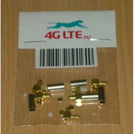 SET of 5 x RF connector MMCX_male_rf_cable