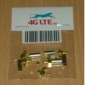 SET de 5 connecteur de RF x MMCX_male_rf_cable