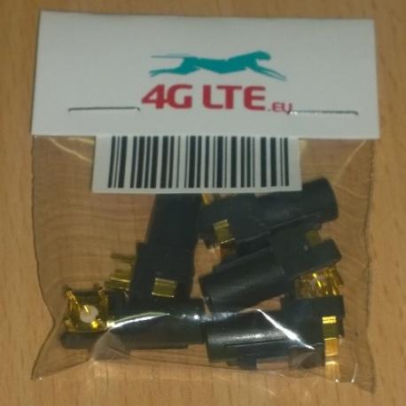 Un conjunto de 5 x RF conector FAKRA-A-PCB