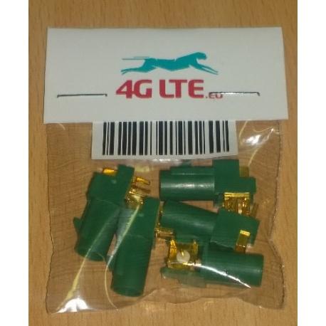 Un ensemble de 5 x connecteur RF FAKRA-E-PCB