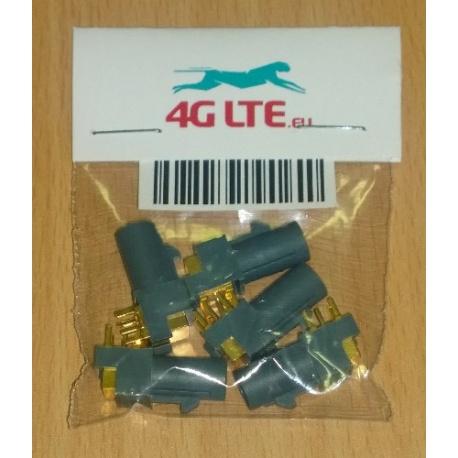 Un conjunto de 5 x RF conector FAKRA-G-PCB
